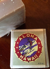 Aloha Hawaii Wood Spice Lavender Musk Goat Milk Soap