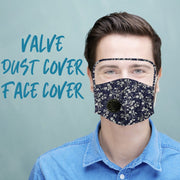reusable cloth fabric facemask Maske For Face Resist Dust Germs
