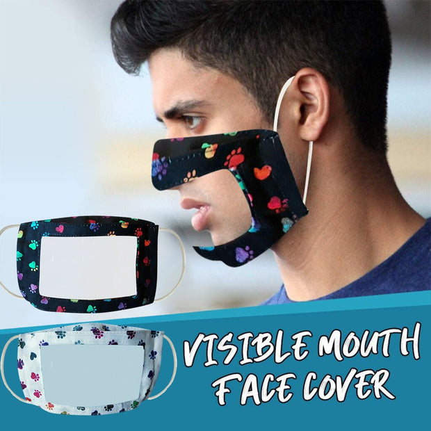 2020unisex Mask With Clear Window Visible Expression