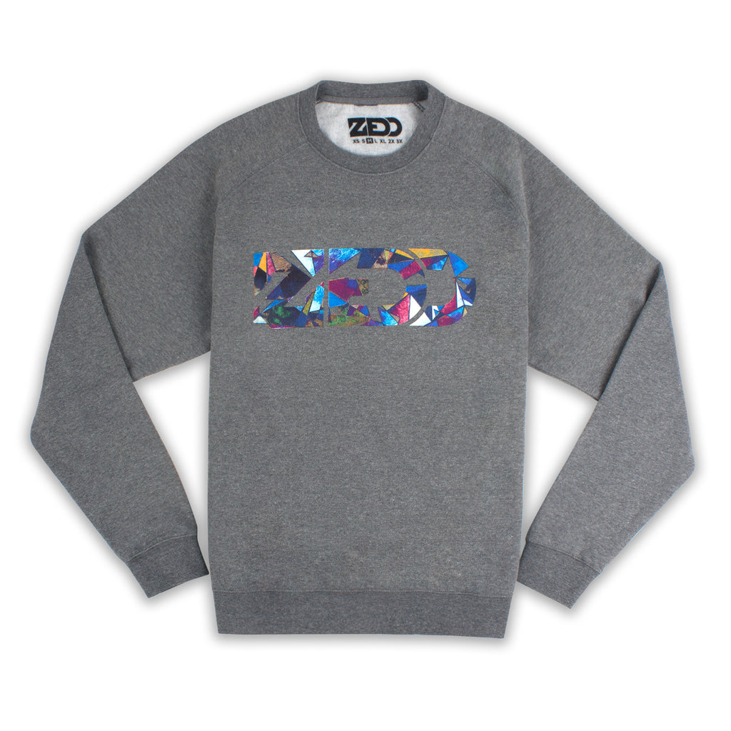 'Triangles' Sweatshirt // Unisex