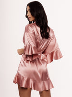 Ruffle Dusty Pink