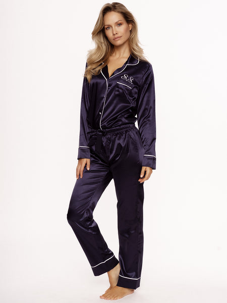 Pyjama Dark Blue Long