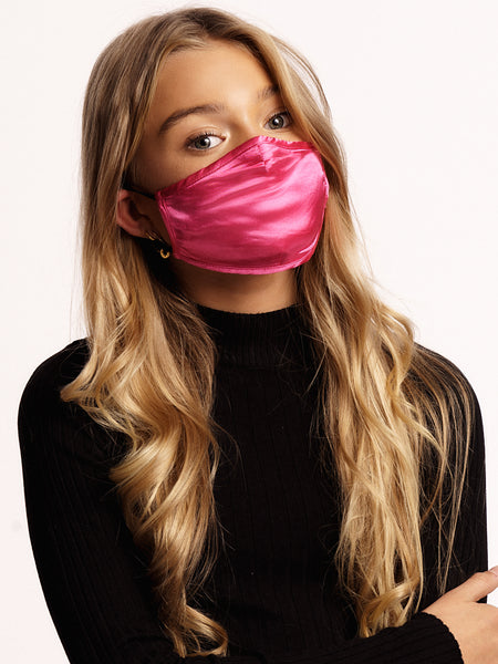 Face mask Kids Dark Pink