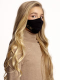 Mondmasker Cotton Midnight Black Kids