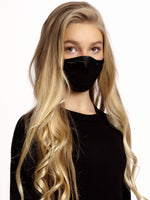 Face mask Kids Black