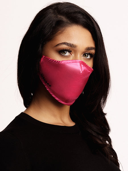 Face mask Dark Pink