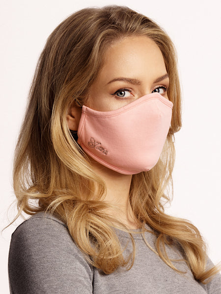 Face mask cotton Light Pink