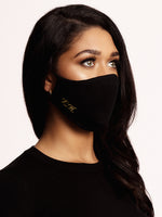 Face mask cotton Black