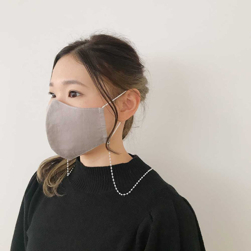 LOT13-2010-0033《Multi-way Mask Chain》Pearl / Glasses Straps