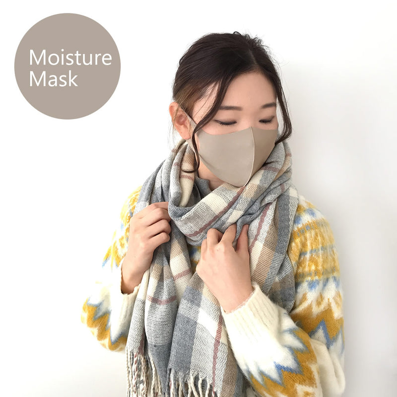 MK-007《Finished product / three-dimensional mask》Moisturizing Face Mask (3 piece pack)