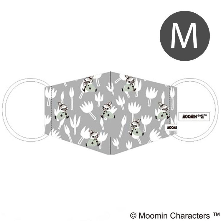 UI-004-m 《MOOMIN Sewing Mask》 with Ajuster / Print / Mi Flower Pattern