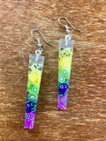 Cute Fruity Resin Pear Lime Kiwi Grapes Earrings Nickel Free - Cute Berry Jewelry