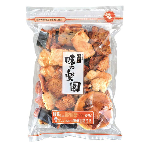 Maruhiko Confectionery Rice Cracker 丸彦製菓 味の楽園