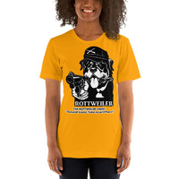 Rottweiler Creed Demand Treats T-shirt Short-sleeve Unisex - Rottweiler POV