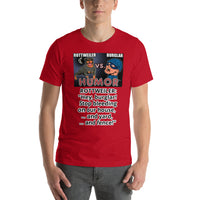 Rottweiler vs. Burglar Stop Bleeding On My T-Shirt Short Sleeve Unisex - Rottweiler POV