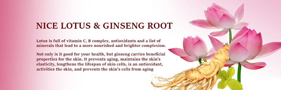 Nice Lotus and Ginseng Root