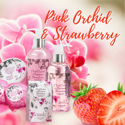 Pink Orchid and Strawberry Fragrance
