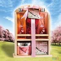 Gift Set - Deluxe Cherry Blossom Giftset For Women: Indulge In Spring-Fresh Aromatic Luxury