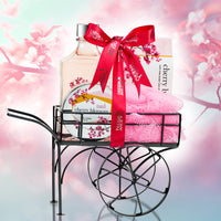 Wheelbarrow Cherry Blossom Spa Bath Set