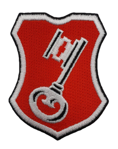 "Beck's Stick Patch ""Schlüssel"""