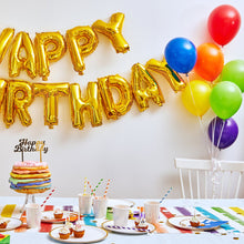 Load image into Gallery viewer, Make It Rainbow Birthday Set