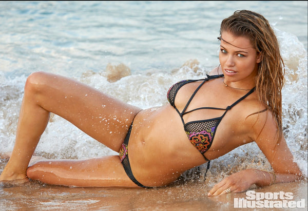 Sauvage Swimwear in Sports Illustrated 2015 Swimsuit Edition!