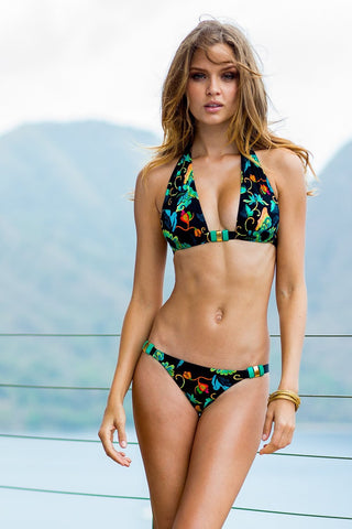 Sauvage Swimwear, Designer Swimwear from San Diego, CA made in usaBlack Orchid Bikini, , Swim, sauvage swimwear, Sauvage - 2