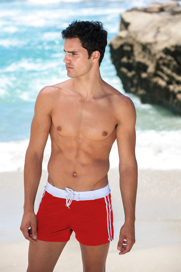 9961145b93 Sauvage Swimwear, Designer Swimwear from San Diego, CA made in usaMariner  Stripe Swim Trunk