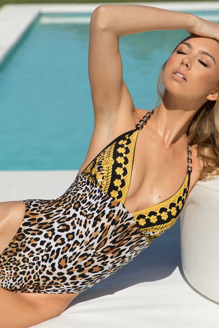 Luxe Leopard Tank One Piece