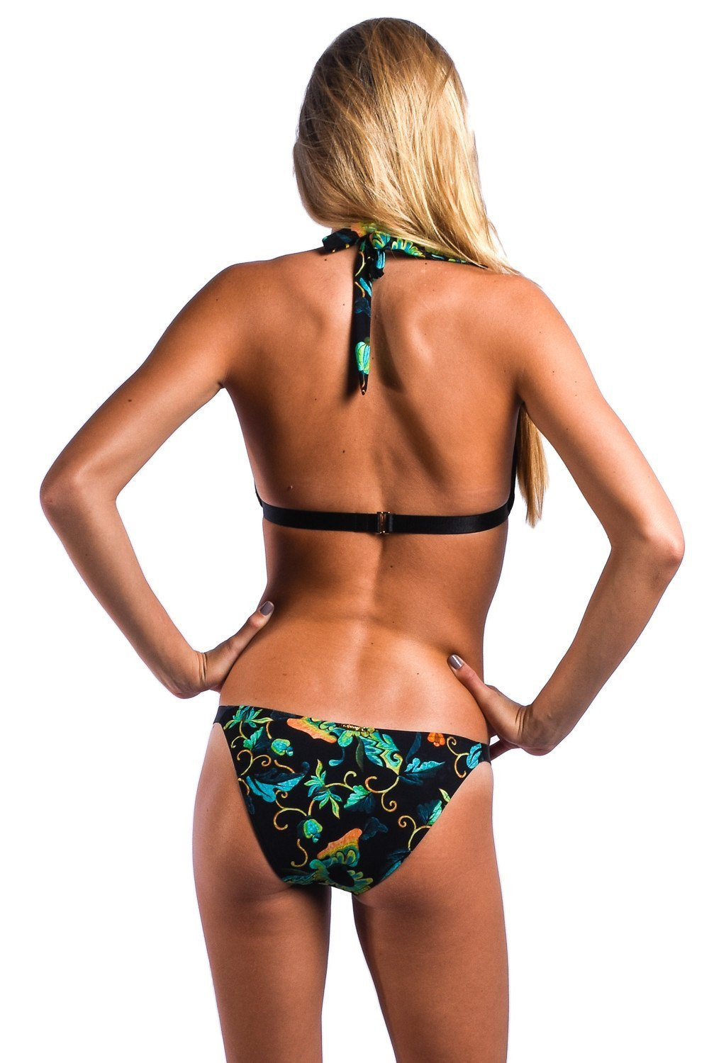 Sauvage Swimwear, Designer Swimwear from San Diego, CA made in usaBlack Orchid Bikini, , Swim, sauvage swimwear, Sauvage - 6