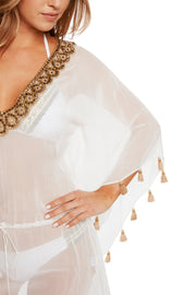 Silk Jewel Caftan