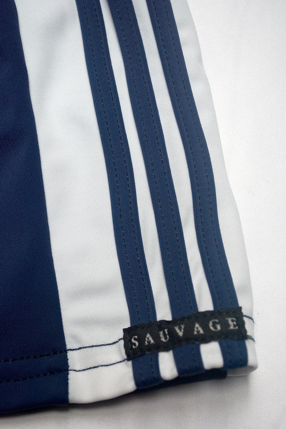 Sauvage Swimwear, Designer Swimwear from San Diego, CA made in usaFreestyle Stripe Square Cut, , Mens Swim, Men's Swim, Sauvage - 5