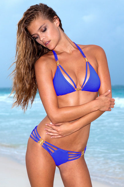Sauvage Swimwear, Designer Swimwear from San Diego, CA made in usaThe Diva Bikini Cobalt, , Swim, sauvage swimwear, Sauvage