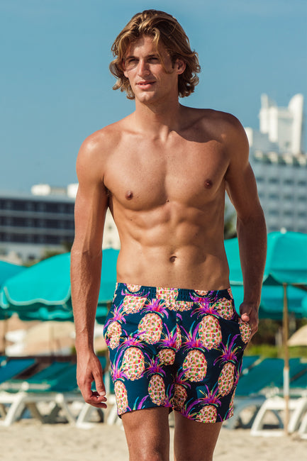Pineapple Pull-on Trunks