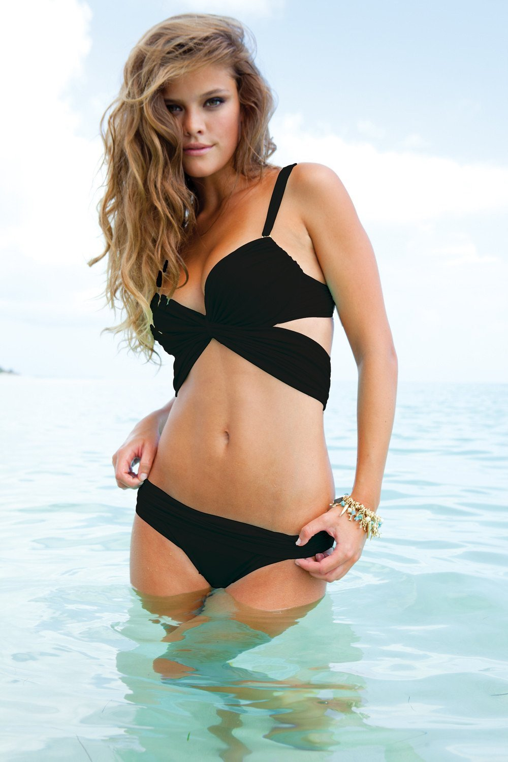 Sauvage Swimwear, Designer Swimwear from San Diego, CA made in usaMon Cheri Bikini Black, , Swim, sauvage swimwear, Sauvage - 1