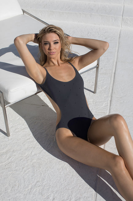 Midnight Starlet Black Crystal One Piece