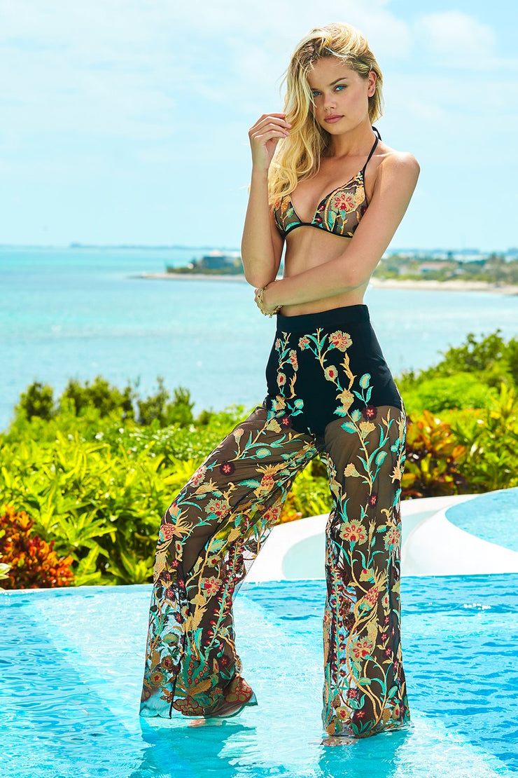 Rose Boheme Resort Pants