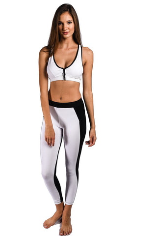 Sauvage Swimwear, Designer Swimwear from San Diego, CA made in usaMonaco Splice Long Workout Pant, , , Sauvage Swimwear, Sauvage