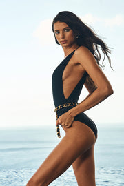 Angela One Piece w. Belt