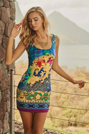 Florentine Fitted Tank Dress