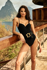 Bruna Belted One Piece