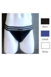 Sheer Stripe Brief - Multiple Colors