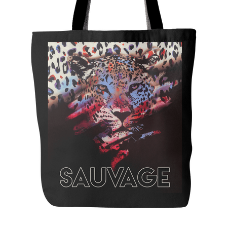 Sauvage Swimwear, Designer Swimwear from San Diego, CA made in usaTiger Tote, , Tote Bags, teelaunch, Sauvage