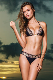 Sauvage Swimwear, Designer Swimwear from San Diego, CA made in usaLeopard Glam, , Swim, sauvage swimwear, Sauvage - 1