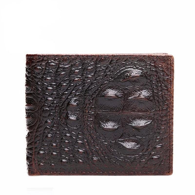 David Outwear Crocodile Leather Wallet