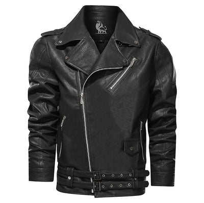 David Outwear Boulevard Leather Jacket