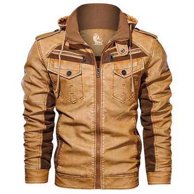 David Outwear Titan Leather Jacket