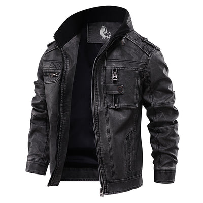 David Outwear Bonanza Leather Jacket
