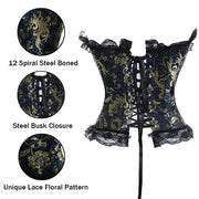 Women steampunk clothing gothic Plus Size