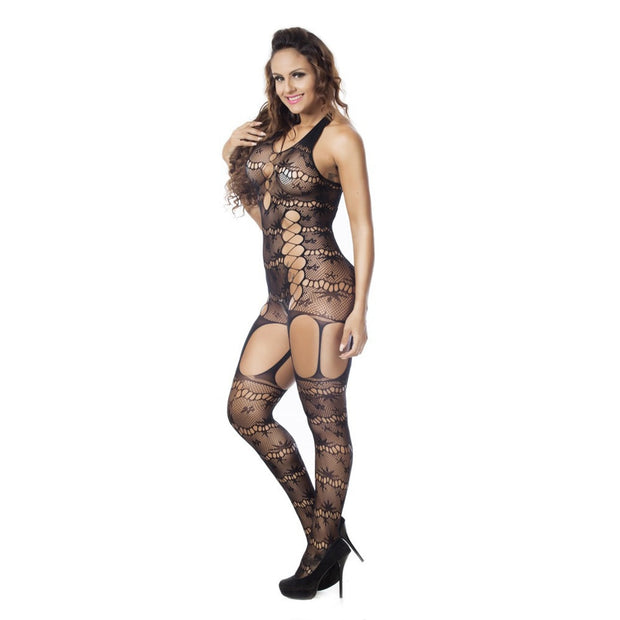 Sexy Bodystockings Women Fishnet